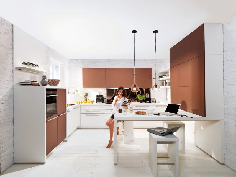 nowoczesne kuchnie galeria zdj interio meble kuchenne. Black Bedroom Furniture Sets. Home Design Ideas