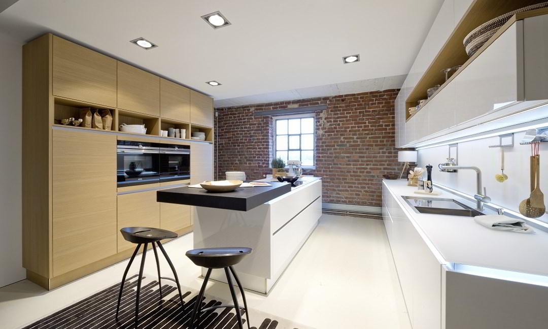 Old Building - wzornictwo, kuchnie Nolte