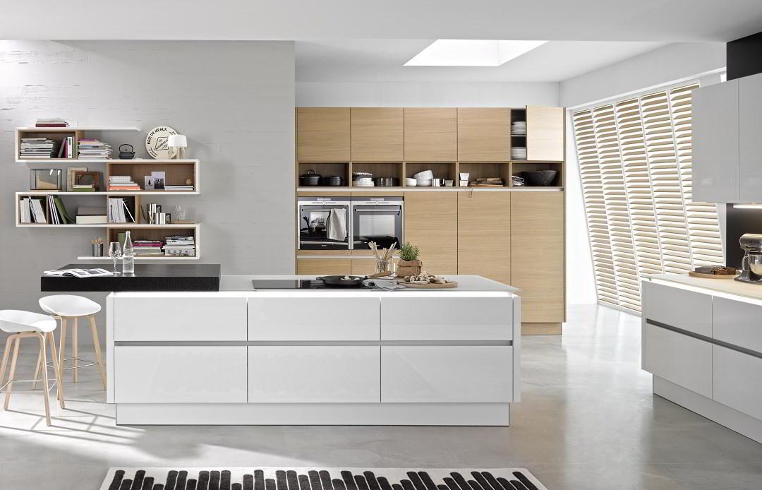 Penthouse - wzornictwo, kuchnie Nolte